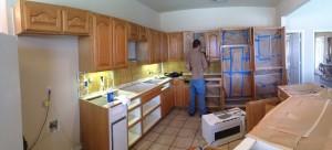 During Kitchen Remodeling in McKinney, TX
