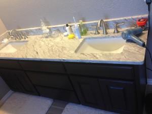 Bathroom Remodel Caddo Mills Double Vanity