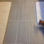 Caddo Mills Bathroom Floor Remodel